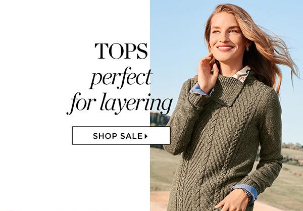 Shop Fall Tops