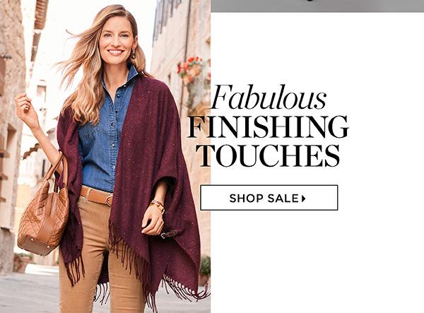 Shop Fall Finishing Touches