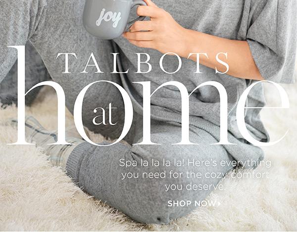 Shop Talbots at Home