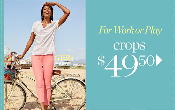 Crops $49.50   Shop Now
